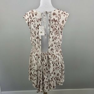 Free People Dresses - Free People Fake Love Ikat Print Open Back Dress S